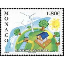 Timbre de Monaco N° 2763