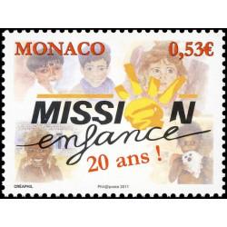 Timbre de Monaco N° 2764