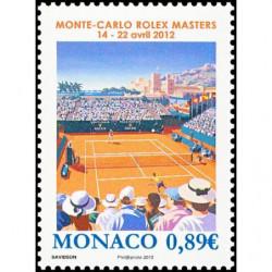 Timbre de Monaco N° 2817