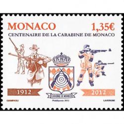 Timbre de Monaco N° 2818