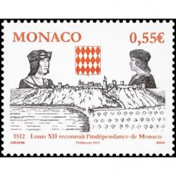 Timbre de Monaco N° 2819