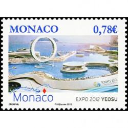 Timbre de Monaco N° 2825...