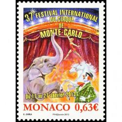 Timbre de Monaco N° 2858...