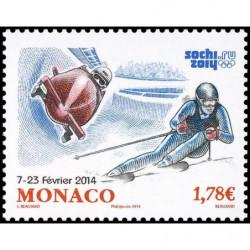 Timbre de Monaco N° 2911...