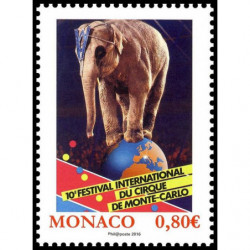 Timbre de Monaco N° 3011