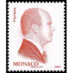 Timbre de Monaco N° 3016