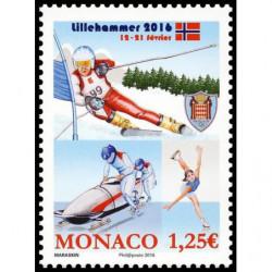 Timbre de Monaco N° 3018