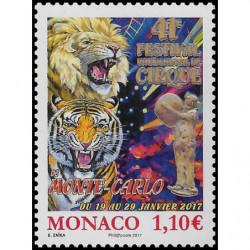 Timbre de Monaco N° 3063