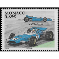 Timbre de Monaco N° 3072