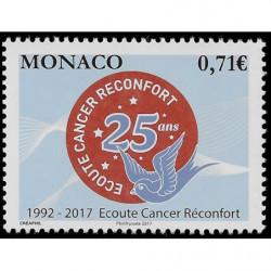 Timbre de Monaco N° 3104...