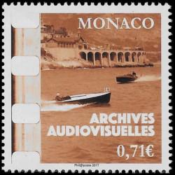 Timbre de Monaco N° 3105...