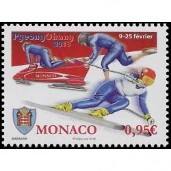 Timbre de Monaco N° 3120
