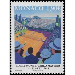 Timbre de Monaco N° 3121