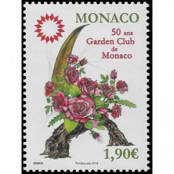 Timbre de Monaco N° 3128