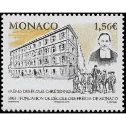 Timbre de Monaco N° 3136...