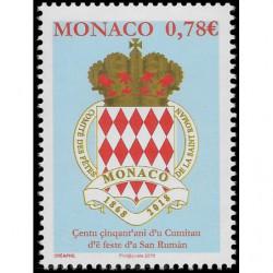Timbre de Monaco N° 3140...