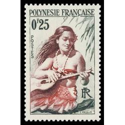 Timbre de Polynésie N° 2...
