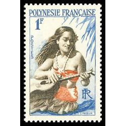 Timbre de Polynésie N° 3...