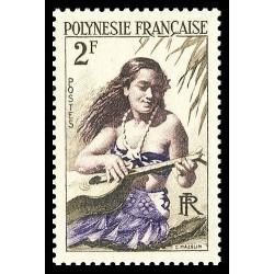 Timbre de Polynésie N° 4...