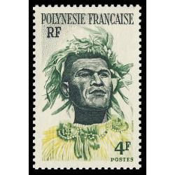 Timbre de Polynésie N° 5...