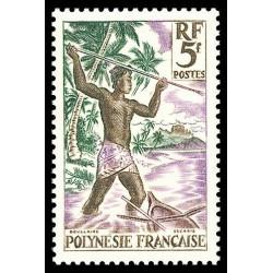 Timbre de Polynésie N° 6...