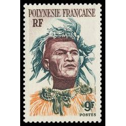Timbre de Polynésie N° 8...