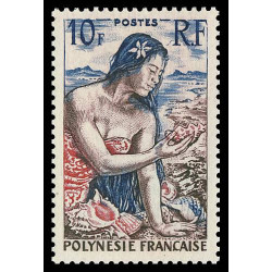 Timbre de Polynésie N° 9...