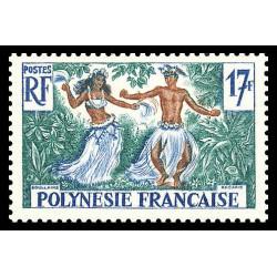 Timbre de Polynésie N° 10...