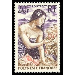 Timbre de Polynésie N° 11...