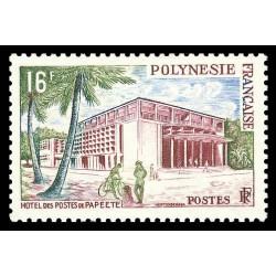 Timbre de Polynésie N° 14...