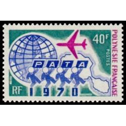 Timbre de Polynésie N° 78...