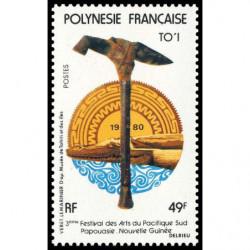 Timbre de Polynésie N° 155...