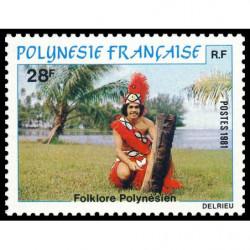 Timbre de Polynésie N° 166...