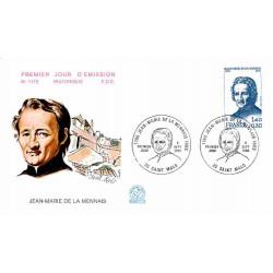 FDC n° 1173 - Jean-Marie de...