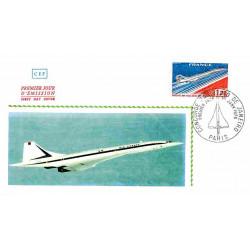 CEF - Concorde, mise en...
