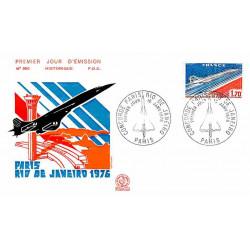 FDC n° 950 - Concorde, mise...