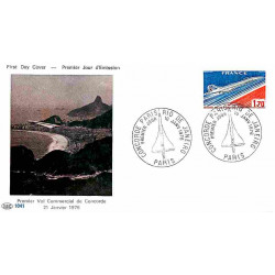 FDC PAC 1041 - Concorde,...