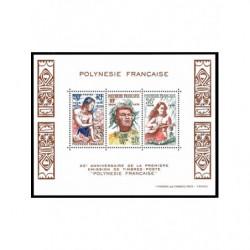 Bloc de Polynésie N° 4 Neuf **