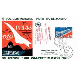 FDC JF - Premier vol...