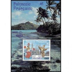 Bloc de Polynésie N° 8 Neuf **