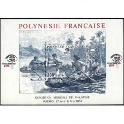 Bloc de Polynésie N° 9 Neuf **