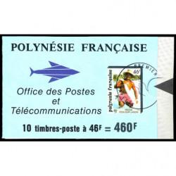 Carnet de Polynésie N° 427...