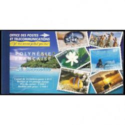 Carnet de Polynésie N° 536...