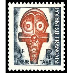 Timbre taxe de Polynésie N°...