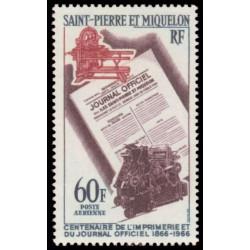 Poste Aérienne de SPM N° 37...