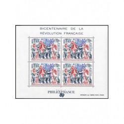 Bloc de timbres TAAF N° 1