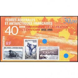 Bloc de timbres TAAF N° 2...