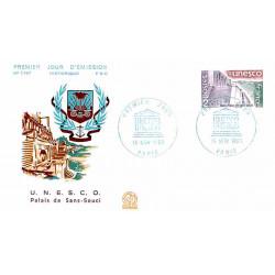 FDC n° 1187 - UNESCO (S62)...