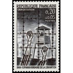 Timbre de France N° 1407...