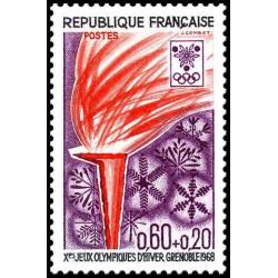 Timbre de France N° 1545...